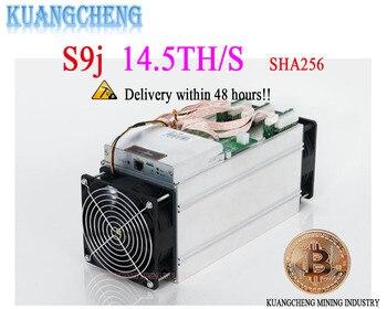 new AntMiner S9j  14.5T BITMAIN  no psu  Asic Miner SHA-256 Bitecion Btc BCH Miner other sale  Antminer  13.5T T9 T15 S15 m3 m10