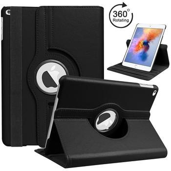 Cover For Case Apple iPad mini 1 mini 2 mini 3 Retina iPad 360 Rotating Stand Flip Smart PU Leather Case Cover Screen Film