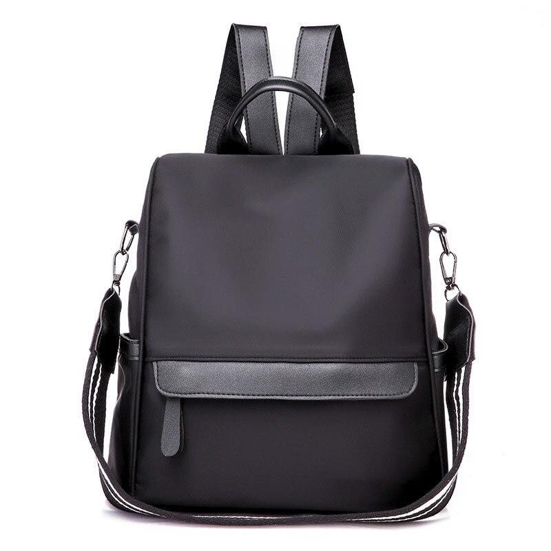 Anti-Theft-Backpack School-Bags Ladies Bag Teenage-Girls Waterproof Women No Oxford Travel