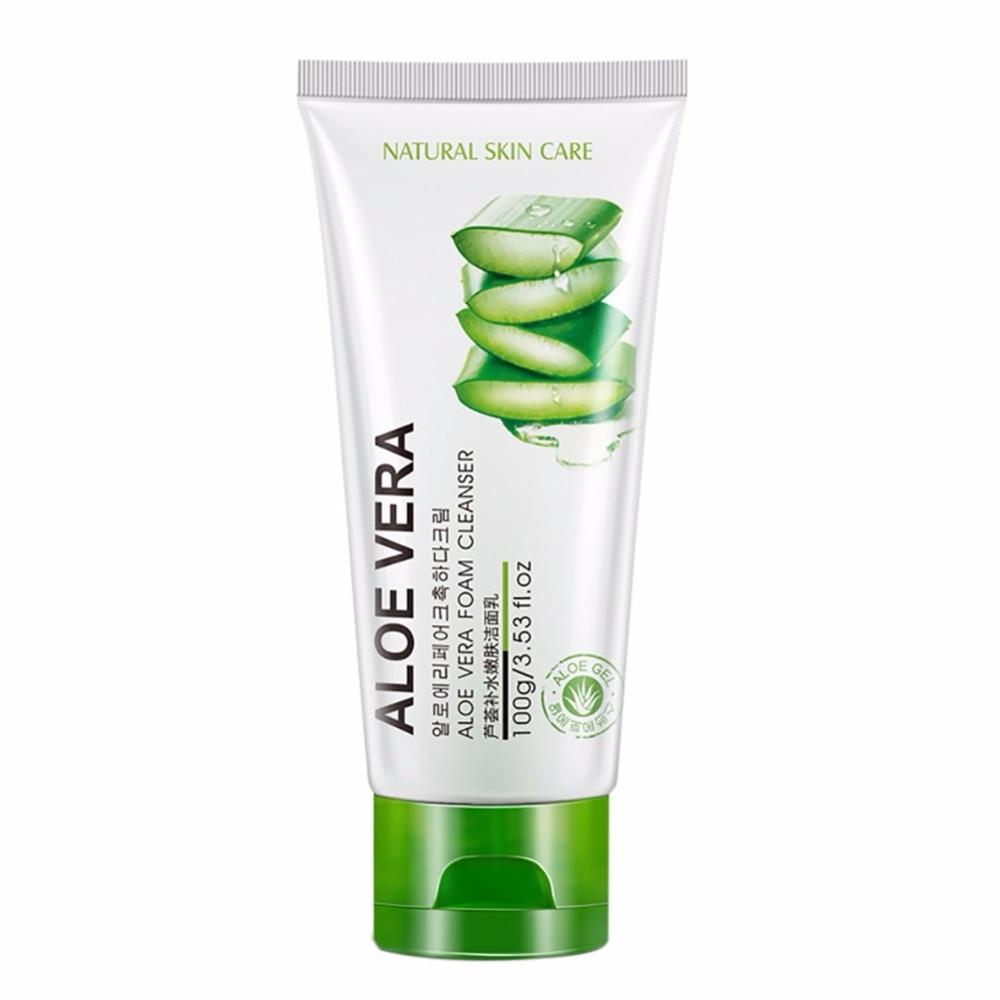 Face Washing Aloe Vera Gel Facial Cream Skin Care Solar Cream Acne Cosmetic Treatment Anti Wrinkle Acne Whitening