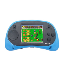 Video Game Console 8 Bit 2.5 Inch Portable Video Handheld Game Player Built-in 260 Different Color Retro Game все цены