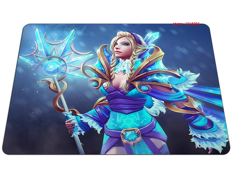 dota 2 mousepad Crystal Maiden gaming mouse pad cute gamer mouse mat pad game computer desk padmouse keyboard large play mats
