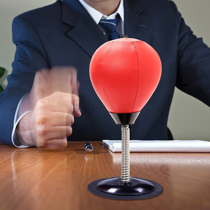 2018 New Stress Relief Desktop Punching Ball Decompression for Adults with Strong Suction Cup 775