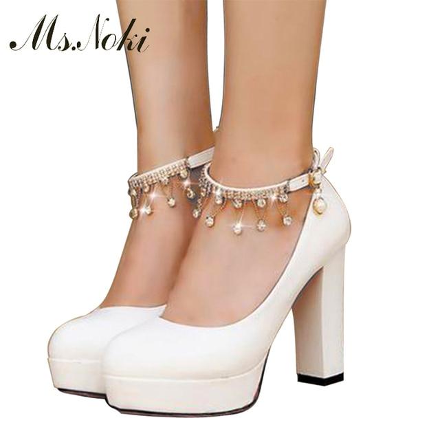 2016 sapatos de noiva branco mulheres sapatos de salto alto bombas ladies couro de alta qualidade fashion festa bombas dedo apontado sapatos de casamento