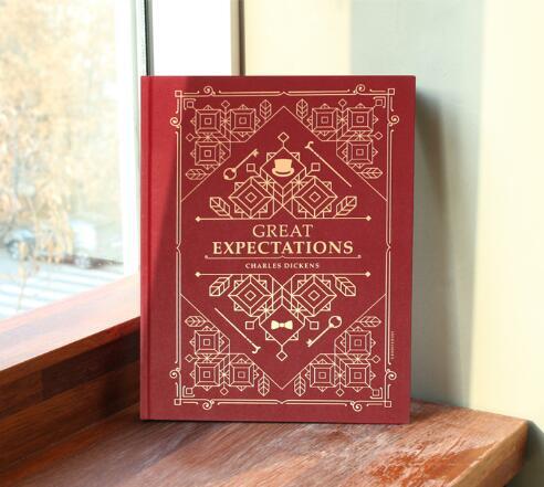 Большая книга Творческий Винтаж моды в твердом переплете Тетрадь 28*34 см пустой Бумага дневник Sketchbook подарок бесплатная доставка