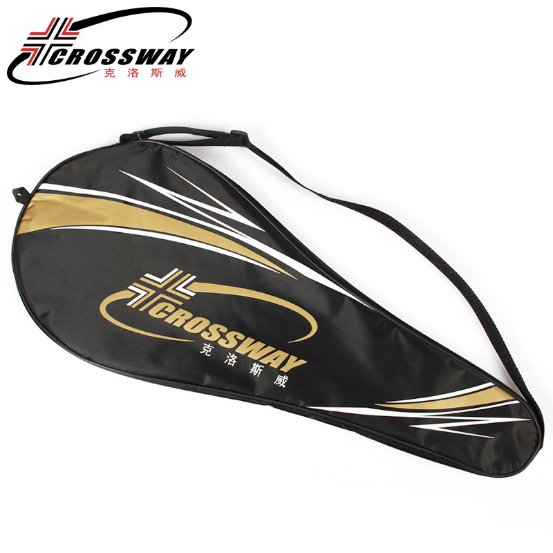 1 Piece Tennis Racquet Raquette Racket Carry Shoulder Bag Cover Black For One Tennis Racket 70x30cm