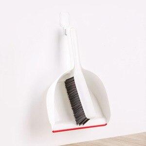 Image 3 - Yijie 미니 빗자루 걸레 더스트 팬 스위퍼 데스크탑 스윕 소형 청소 브러쉬 도구 가사 가정용 홈 키트
