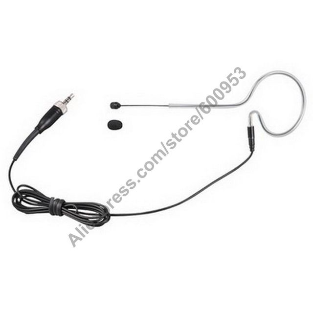 Micwl black ear hook omnidirectional headset microphone for micwl black ear hook omnidirectional headset microphone for sennheiser g1 g2 g3 head headworn mic publicscrutiny