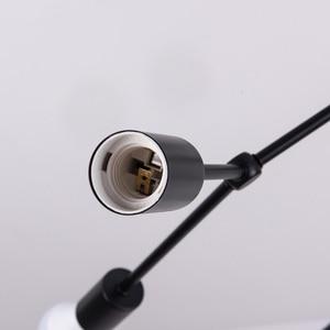 Image 4 - רב ראשי תקרת אורות Led תקרת מנורת רטרו תעשייתי Luminaria אישיות Lamparas לסלון Plafonnier אורות