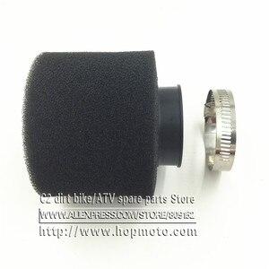 Черный и красный воздушный фильтр 35 мм 38 мм 42 мм 45 мм 48 мм 58 мм для мопеда, скутера, мотоцикла