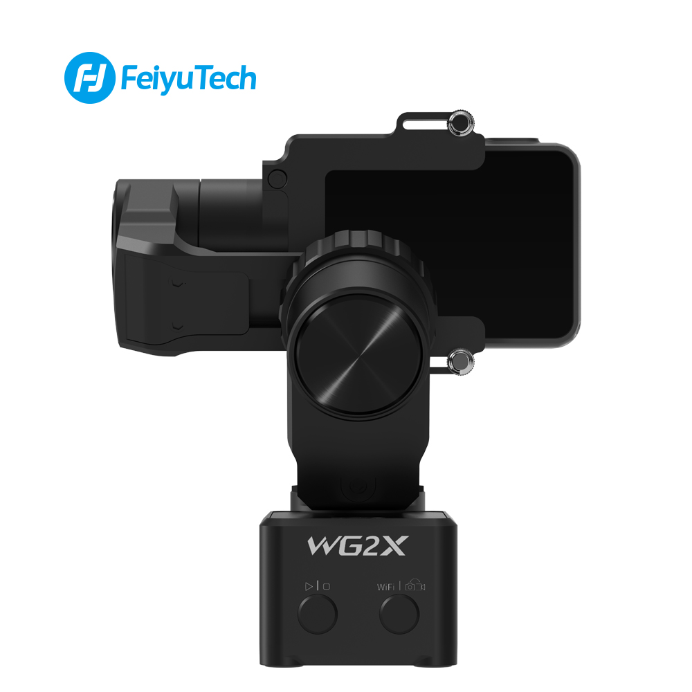 Image 4 - FeiyuTech WG2X Wearable Mountable Action Camera Gimbal Splash proof Stabilizer for GoPro Hero 7 6 5 4  Sony RX0 Action Camera-in Handheld Gimbals from Consumer Electronics