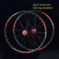 27,5 дюймов MTB горный велосипед колеса 120 кольцо велосипед колесной 32 отверстия подшипника 26 inch колесной