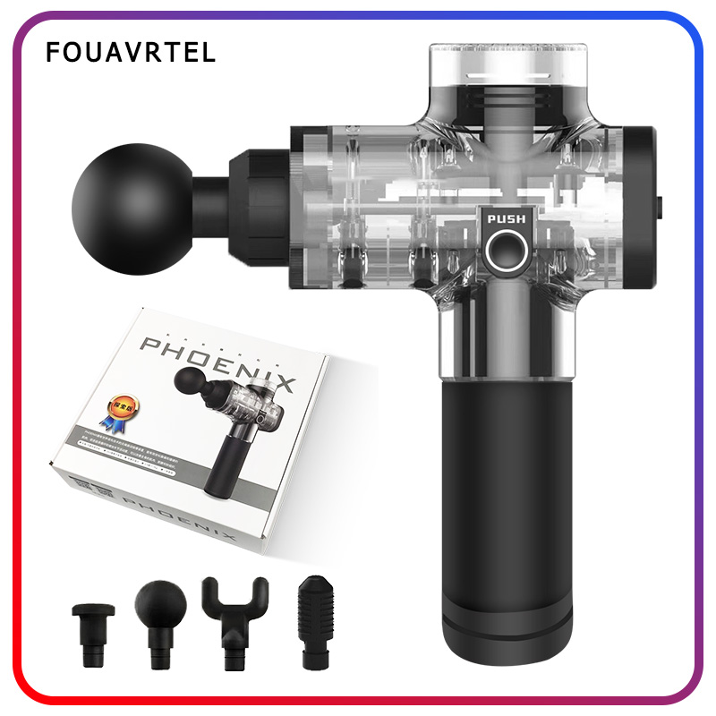 FOUAVRTEL Sales Bargains Massage Gun Electronic Muscle Relaxing Device 2 Colors Body Massager Therapy Body Massage GunFOUAVRTEL Sales Bargains Massage Gun Electronic Muscle Relaxing Device 2 Colors Body Massager Therapy Body Massage Gun