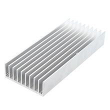 130mm x 56mm 20mm Heatsink Heat Diffuse Aluminium Cooling Fin