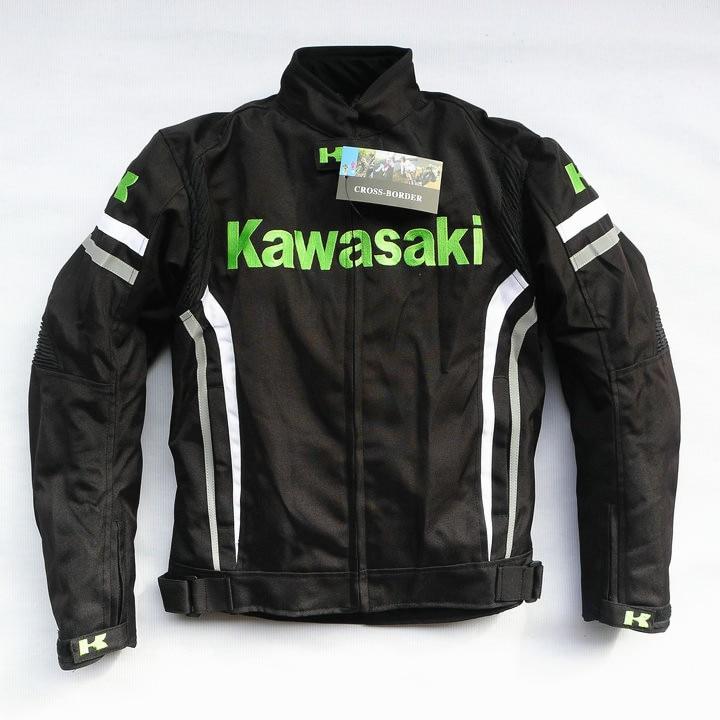 2018 Motorcycle Men's Jacket for KAWASAKI Team Racing Thermal Removable Liner Jacket