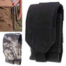 Outdoor Universal Phone Bag Under 5 5inch Sport pouch Belt Hook Loop Holster Waist Case Bag