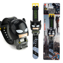 New Electronic Kids Toys Watch The Avengers Spiderman Hulk Ironman Starwars Figu