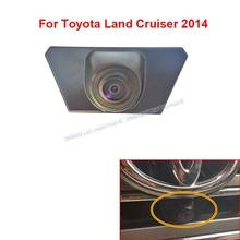 Waterproof Night Vision CCD Car Front View Logo Parking Camera For Toyota  Land Cruiser 2014 2016 Installed under the car logo