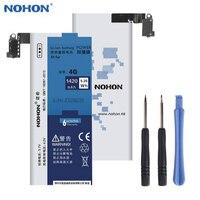 Orijinal NOHON Cep Telefonu Pil Gerçek Kapasite 1420 mAh Li-Ion Dahili Pil Apple IPhone 4 4G Için Ücretsiz Aracı