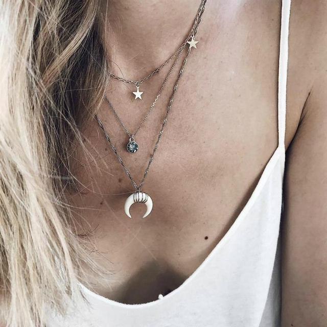 Necklace Bohemian...