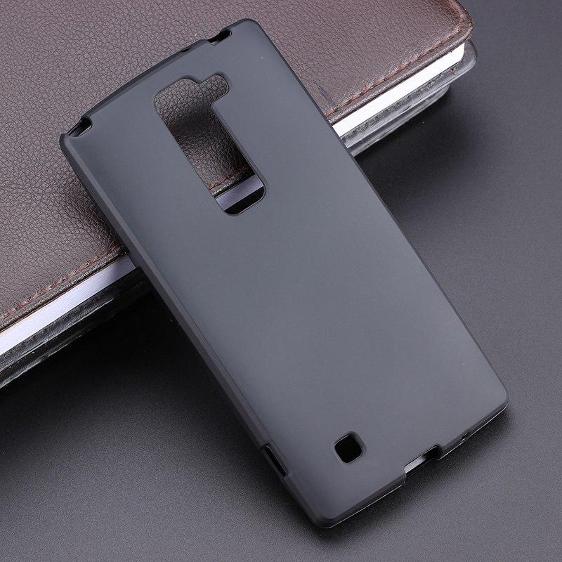 Black Gel TPU Slim Soft Anti Skiding Case Back Cover For LG Magna Y90 C90 H520N H502F H500F Phone Rubber Silicone Bag