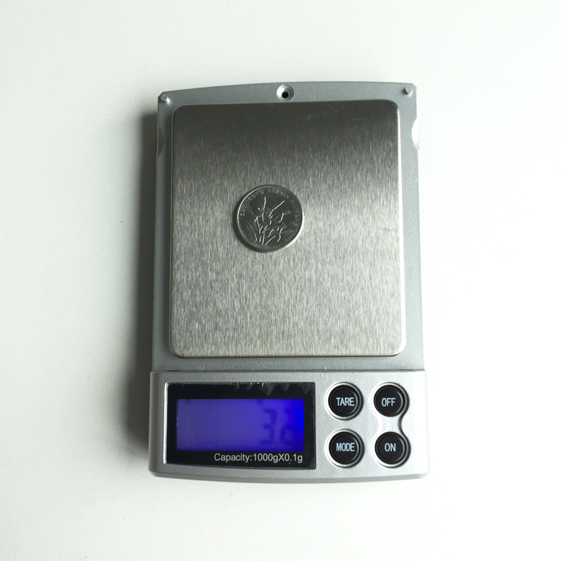 1000g/0.1g Electronic LCD digital Precision scales Mini gold diamond Jewelry Pocket Scale Weighing Tool g/ oz/ ct/ ozt/ dwt