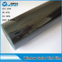 1.52 m x 10 m חלון בקרת סרט שמש N-20GR קוריאה PET חומר סרט גוון חלון מכונית 21% VLT ו 99% דחיית UV