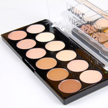 MISS ROSE Profissional Make up 12 Colors Concealer Contour Face Cream Palette Maquiagem Base Corrector for Wrinkle Dark Circle