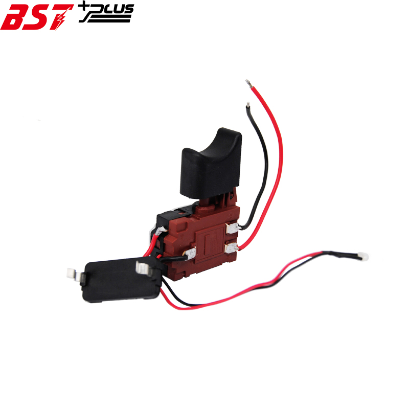 Power Tool Accessories Tools Dynamic Dc14.4v/16.8v/dc18v Lithium Battery Cordless Drill Speed Control Trigger Switch With Light Speed Cotrol Trigger Switch