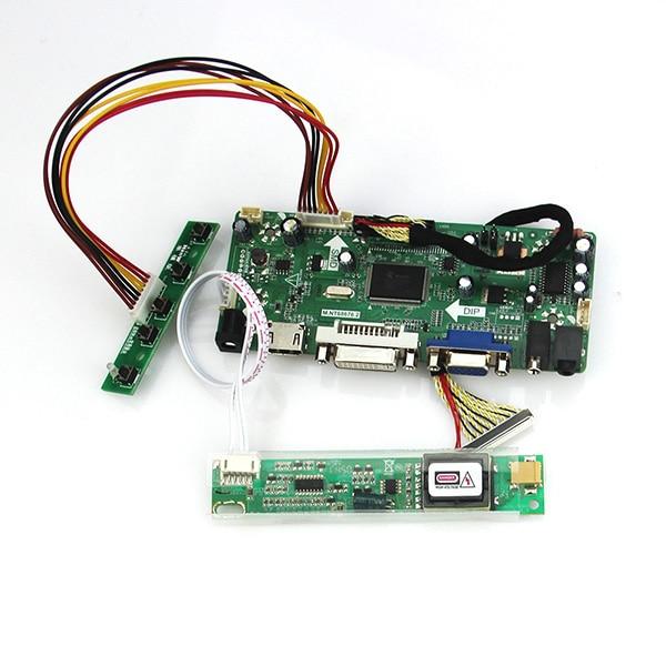 LCD Monitor Controller Driver Board Kit for LP156WH1 TL A1 HDMI+DVI+VGA