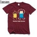 Tempo aventura T-shirt Dos Homens 3D Camisas de Impressão de Design de Moda Verão Dos Desenhos Animados T-shirt Para O Homem Meninos 100% Algodão Men Casual Tops