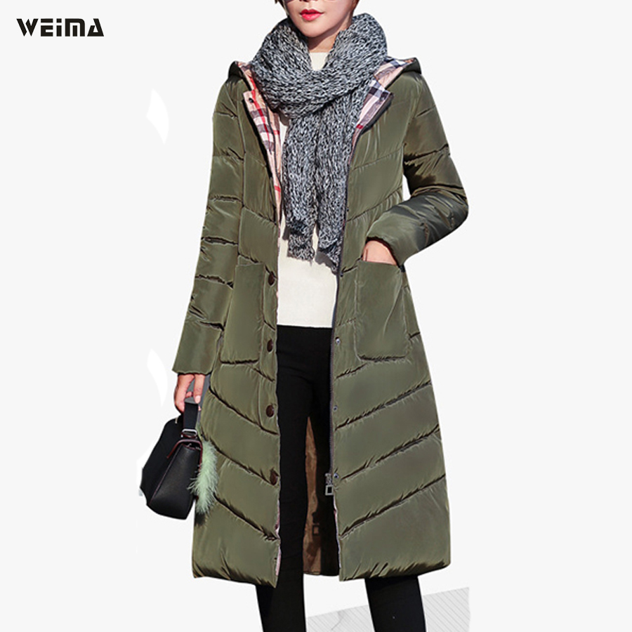 2017women winter jacket fashion covered button thick hooded pocket cotton coat nice and warm puffer long parka jacket inc international concepts women s pocket crepe top 10 bachelor button