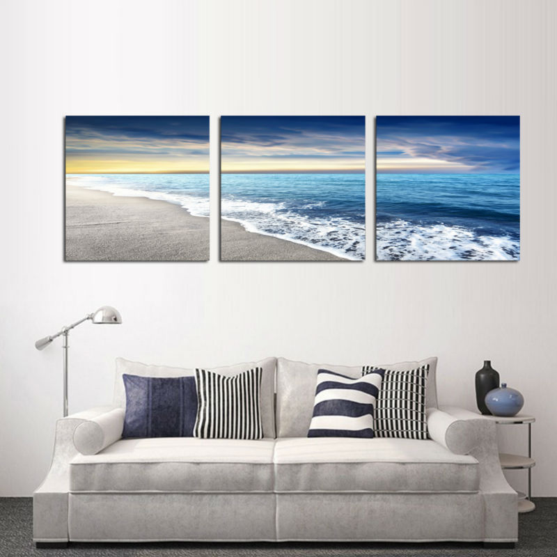 beach framed art