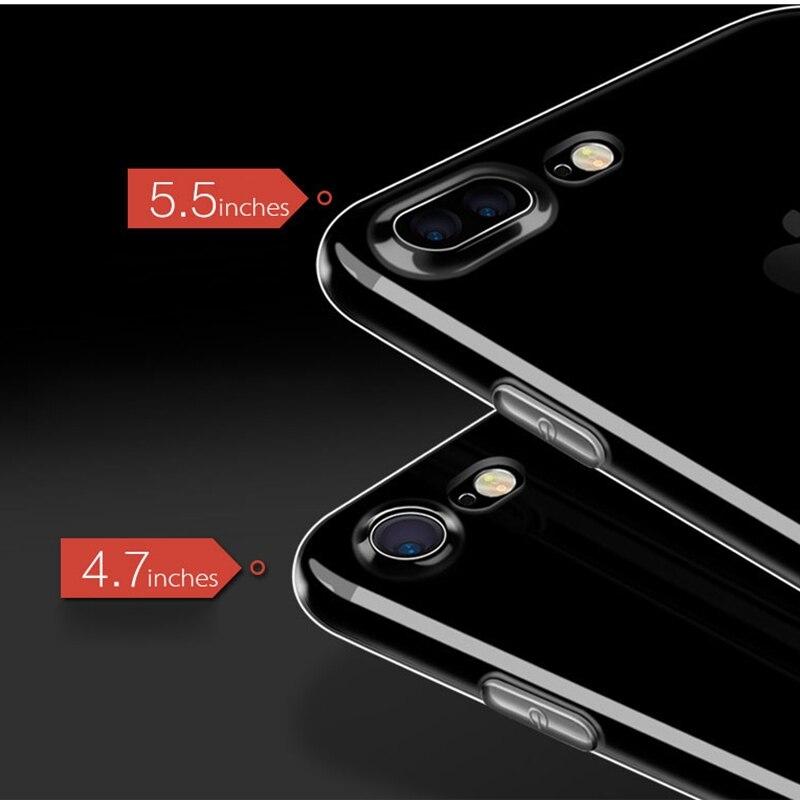 IPhone X XS 11 üçün ən yüksək keyfiyyətli silikon qutu 7 7 6 - Cib telefonu aksesuarları və hissələri - Fotoqrafiya 3