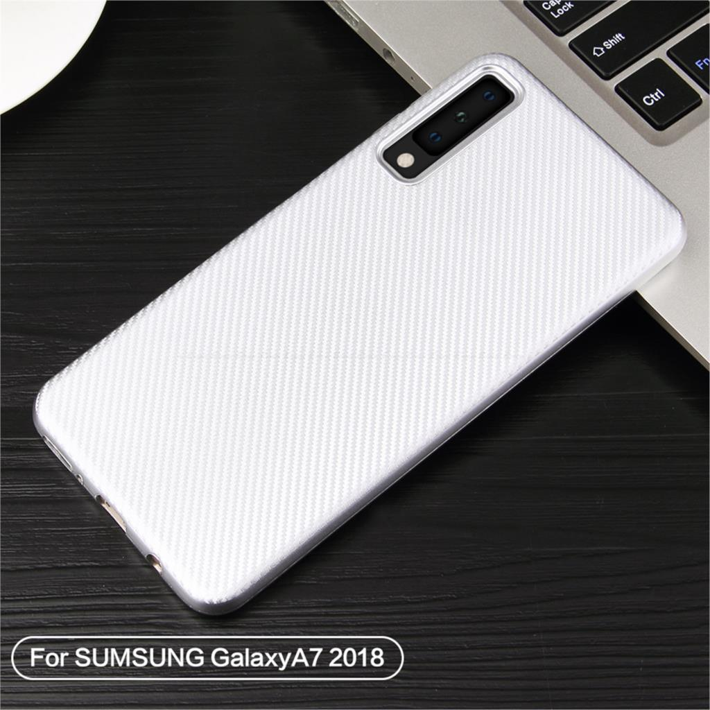 Carbon Fiber Soft TPU Case For Samsung Galaxy S10e S10 S9 S8 S7 Edge Note 9 8 A9 A8 A7 A6 Plus 2018 A5 A3 2017 2016 Back Cover