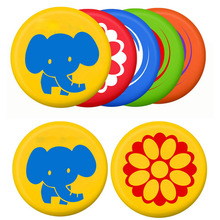 Soft PU Frisbee Toy Kindergarten Playing Game Flying Disc Frisbee Toy ForParent Child Interactive Outdoor Flying