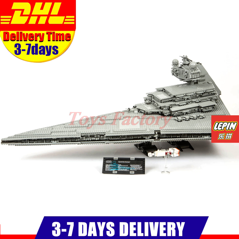 LEPIN 05027 3250Pcs Ultimate Collector Series Star War  Imperial Star Destroyer Model Building Blocks Bricks Compatible 10030 lepin 22001 pirate ship imperial warships model building block briks toys gift 1717pcs compatible legoed 10210