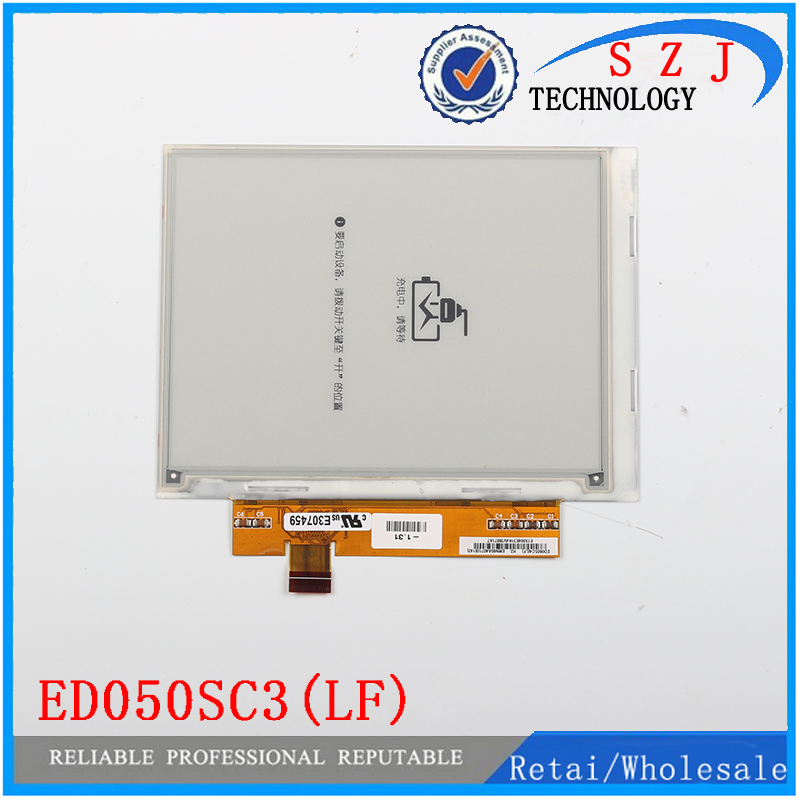 New PVI 5'' inch ED050SC3(LF) Ebook screen Electronic ink LCD display For Pocketbook 360; PRS-300 E-Readers screen Free shipping