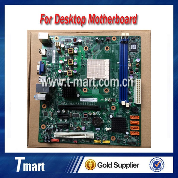 US $56 0 |100% working Desktop motherboard for Lenovo 760 M3A760M RS780Q  LM5 AM3 System Board fully tested-in Motherboards from Computer & Office on