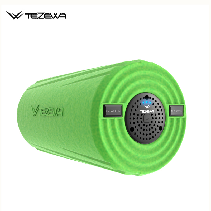 Электрический Вибрационный Массажный роллер для йоги/ролик для пилатеса для массаж мышц глубокий ткань с 3 скоростной доставить по DHL или ... - 4