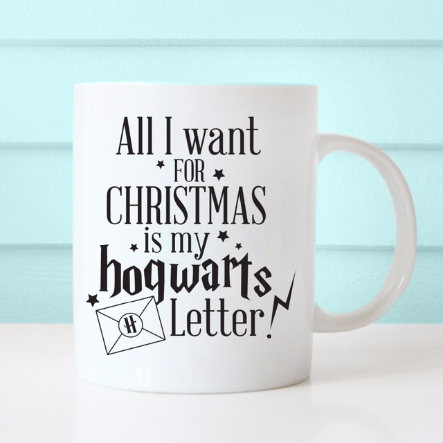 Aliexpress.com : Buy All I want for Christmas is my Hogwarts ...