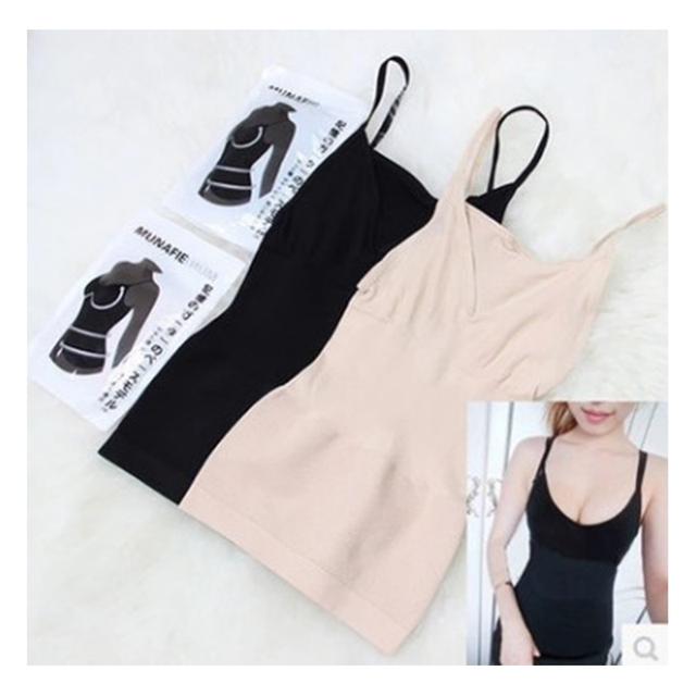Mulheres quentes magro coletes camisole regatas spaghetti strap body slimming shaper corselet underwear abdômen cintura fina