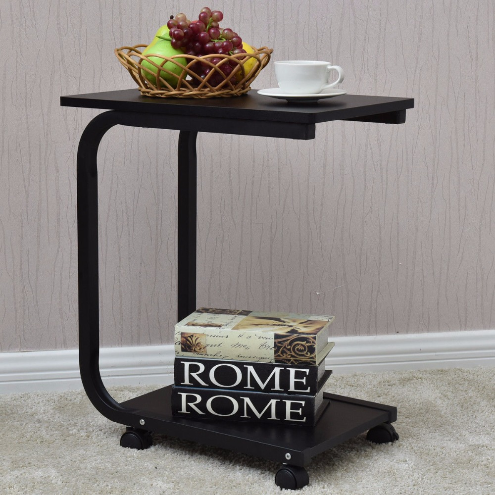 2 Tier Small Antique Side End Table Borkut