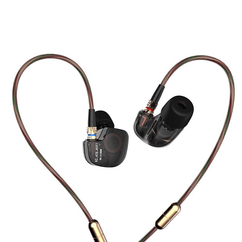 Original KZ ATE ATR ATES auriculares vs kz-ed2 se535 se215 auriculares del deporte del auricular micrófono se845 regalo pk ED-12 zs6