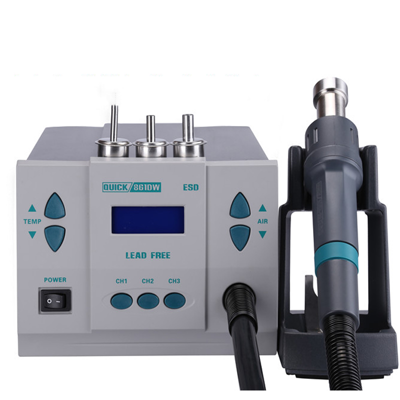 861DW original Quick Solder Station Quick 861DW repair tool quick 861 dw de smd solder station