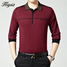 Free Shipping High Quality Business Dress Autumn Wool Sweater Shirt Men Turn-down Collar Cashmere Pullovers Plus Size Pull 66120