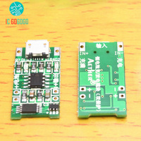 TP4056 1A Lithium Battery Charger Module 3.7V Overcharge Overdischarge Protection Power Module Li-ion Lipo Battery Charge Board