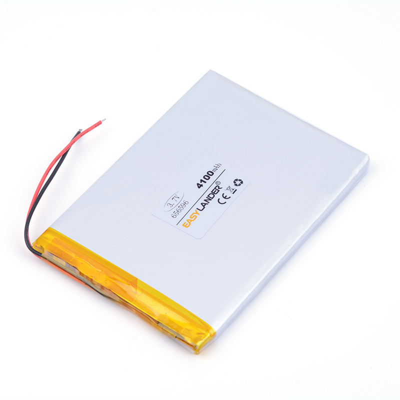best <font><b>battery</b></font> brand <font><b>3.7V</b></font> polymer <font><b>battery</b></font> series 656596 <font><b>4100mAH</b></font> series all kinds of <font><b>battery</b></font> pack Naptop e-book video game IPAQ MID image