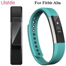 Full Cover Clear Screen Protector Film for Fitbit Alta HR Bracelet Ultra Thin HD High Definition TPU Material Protective Film 1 2 5 6 pcs anti scratch ultra clear protective film guard for fitbit charge 2 wristband full screen protector cover