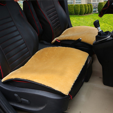 Comfortable Warm Plush Car Seat Wool Mats Cushion